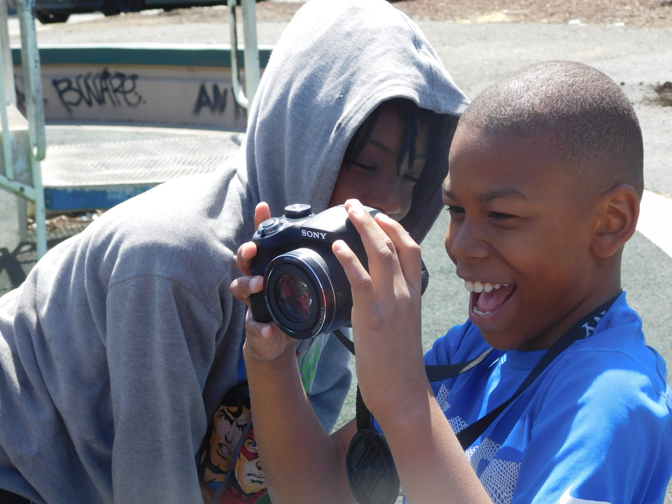Meet Mixed Media Specialist: Gary (G-Biz) Bizer at Camp ANV!