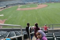 Checking out the Ballpark!