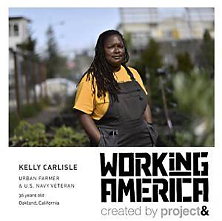Working In America – Exhibit @ Oakland Public Library