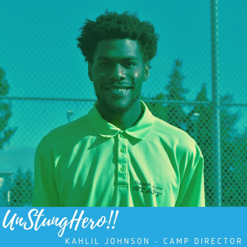 Camp ANV #UnStungHero: Kahlil Johnson; Camp Director